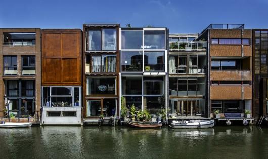 Borneo Sporenberg townhouses in Amsterdam. (archdaily.com)
