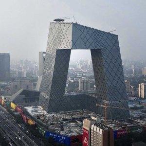 CCTV, by Rem Koolhaas. (e-architect.co.uk)