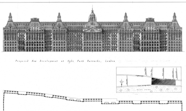 Hyde Park Barracks design by Quinlan and Francis Terry. (Courtesy of the architects)