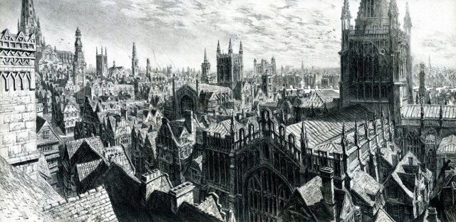 17th Century London. No artist named. (creativeuncut.com)