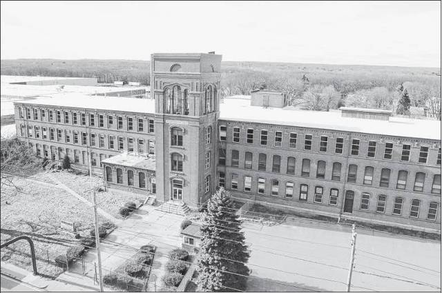 The Elizabeth Mill, in Warwick, R.I. (Providence Journal photo by Sandor Bodo)