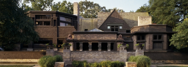 Frank Lloyd Wright's home and studio in Chicago. (flwright.org)