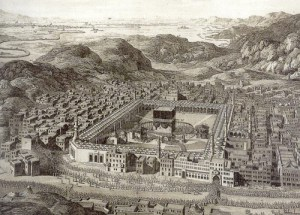 Mecca in ancient times. (socialappetizers.com)