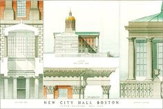 Details of proposed City Hall.