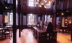 Mackintosh Library. (The Guardian)