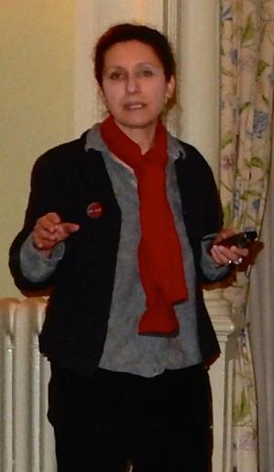 Ann Sussman. (Photo by David Brussat)