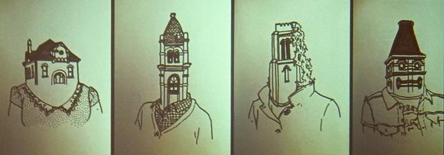The faces of buildings. (Ryan Dodgson)