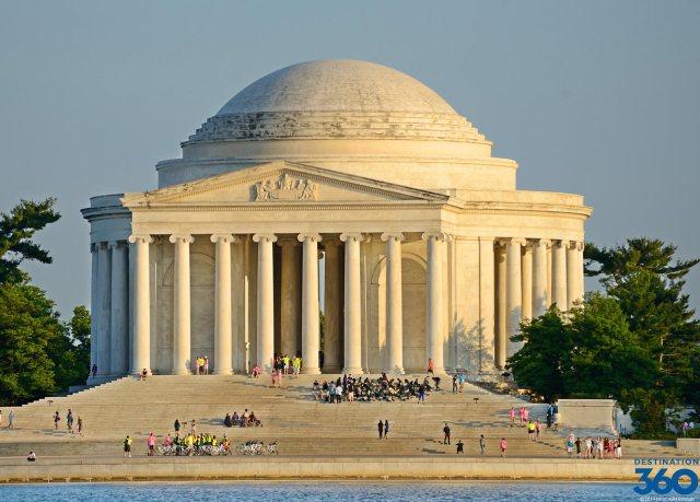 Photo credit Destination360 Jefferson Memorial