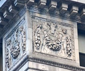 Detail of 51 East 42nd St. (Photo by Calder Loth)