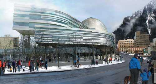 Thom Mayne (Morpheus) design for Alaskan capitol. (sitnews.us