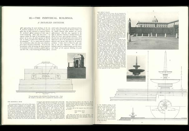 A pair of pages from the 1931 criticism of Lutyens. (Architectural Review)