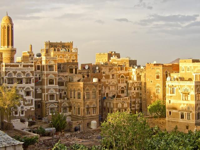 Part of a town in Yemen. (curiositas.com)