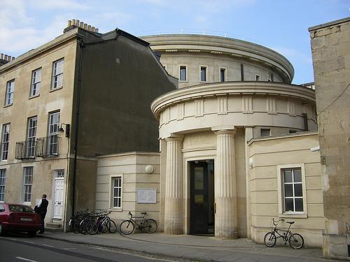 Sackler Library at Oxford University. (flickr.com)
