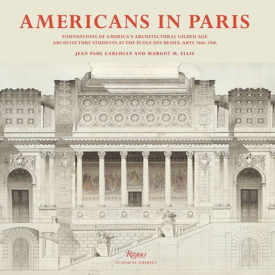 "Front cover of ""Americans in Paris."" (amazon.com)"
