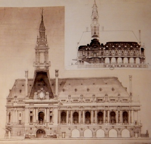 A city hall, by William Van Alen. (Rizzoli)
