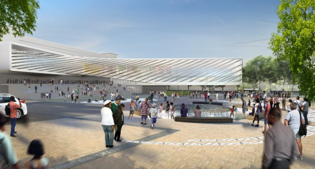 Rendering of proposed International African American Museum, in Charleston. (iaam.org)