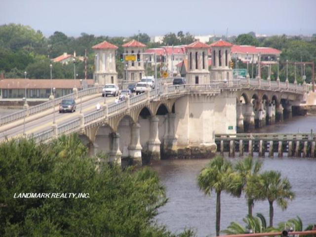 Bridge in Saint Augustine.