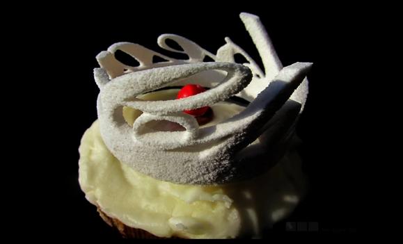 Dessert a la Gehry. (3ders.org)