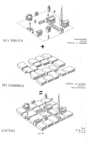 Sketch by Leon Krier. (architectural-review.com)