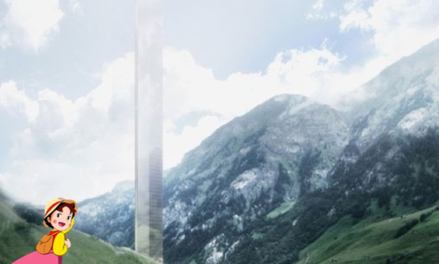 Tower by Thomas Mayne for Vals, Switz. (uncredited montage in Gizmodo)