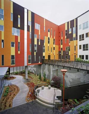 Armstrong Senior Housing, in San Francisco. (David Baker Architects)