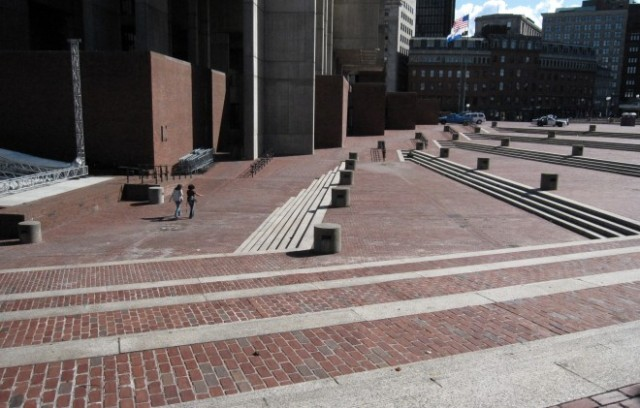 Plaza of Boston City Hall. (Project for Public Spaces)