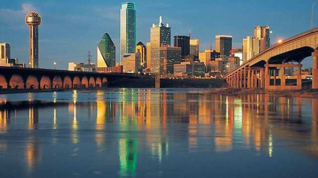 Dallas, site of CNU walkability congress. (doubletree3.hilton.com)