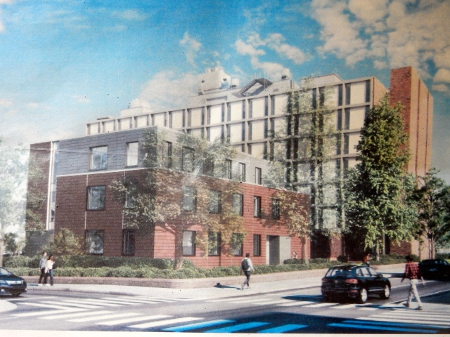 Brown's proposed Applied Math Building at Hope and George streets. (Brown)