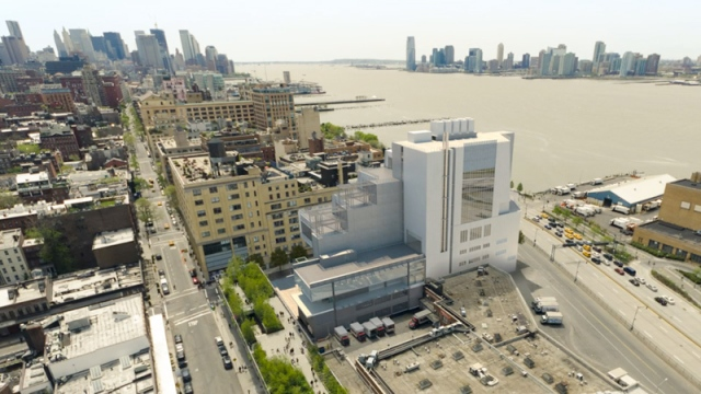 View of new Whitney Museum on Manhattan's West Side. (whitney.org)