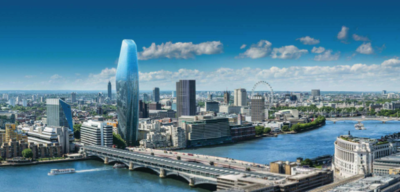 Proposed Blackfriars tower along Thames in London. (Create Streets)