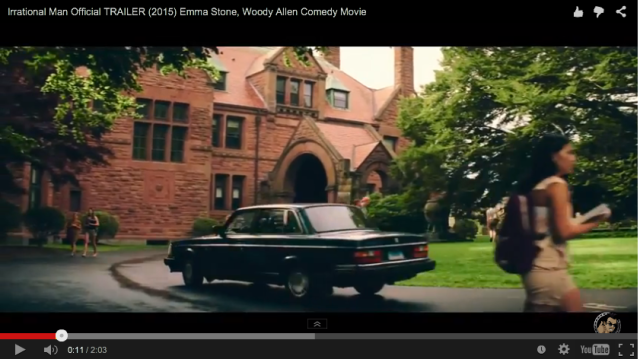 Screenshot from the trailer for