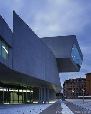 Opera House in Rome by Zaha Hadid. (archinnovations.com)