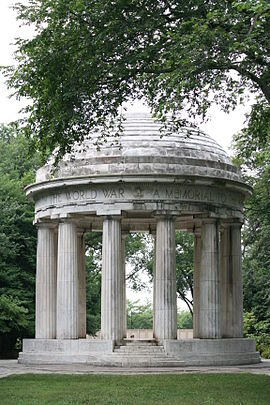 D.C.'s WWI Memorial. (wikipedia)
