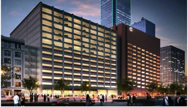 The planned Dallas parking garage Mark Lamster bemoans [I would say