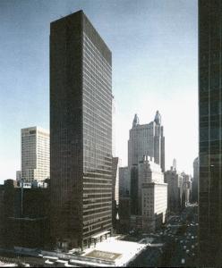 The Seagram Building. (lebbeuswoods@wordpress.com)