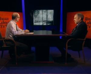 Brian Lehrer and Richard Cameron. (screenshot)