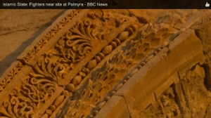 Detail of Palmyrene arch. (BBC)