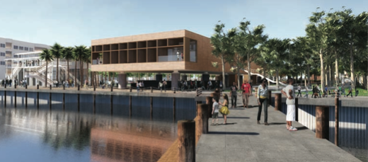 Proposed design for International Museum of African American History, in Charleston.
