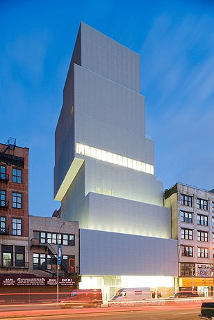 SANAA design for New Museum of Contemporary Art, in New York. (archdaily.com)