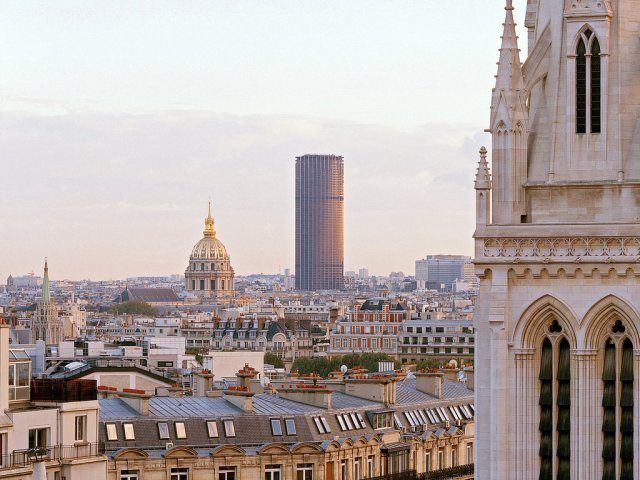 Tour Montparnasse, in Paris. (Luc Boegly/Artedia, via View)