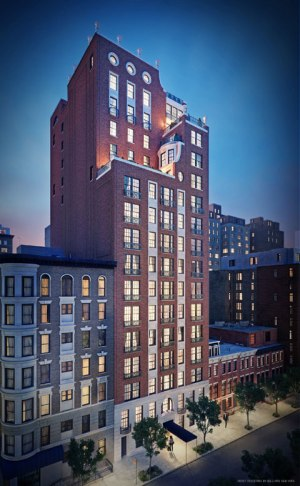 Rendering of 151 E78th St., apartment building in New York City. (Peter Pennoyer Architectus)