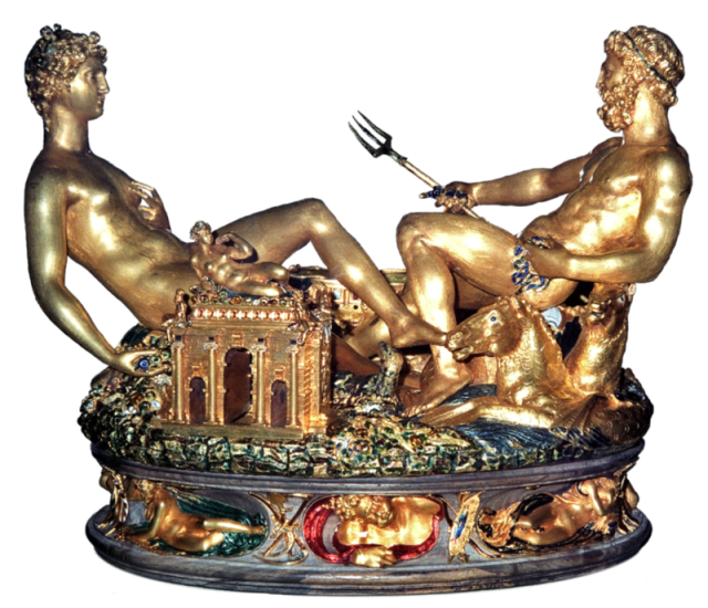Saltcellar by Cellini done for King Francis I of France. (wikipedia.com)