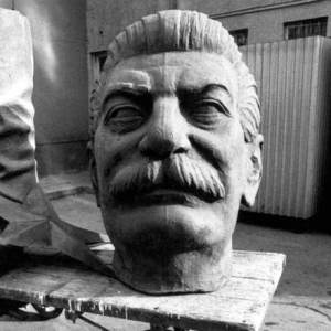 Bust of Stalin. (The Charnel-House)