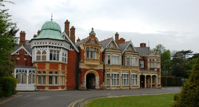 Bletchley Park, scene of the cracking of Enigma. (n4trb.com)