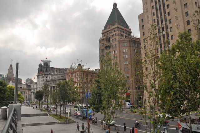 The Bund, in Shanghai. (All photos by Michael Gerhardt)