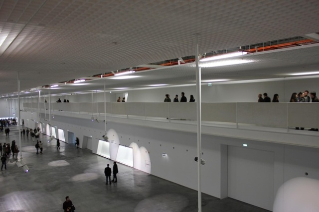 Inside Lisbon's Coach Museum.
