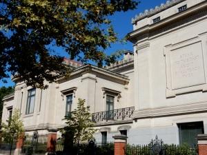 JCBL, George Street facades. (Photo by David Brussat)