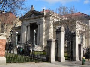 Original 1904 John Carter Brown Library. (Photo by David Brussat)