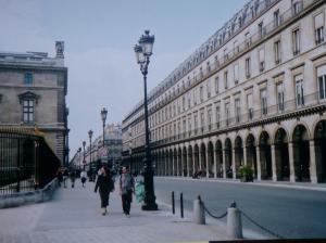 Rue de Rivoli. (Photo by David Brussat)