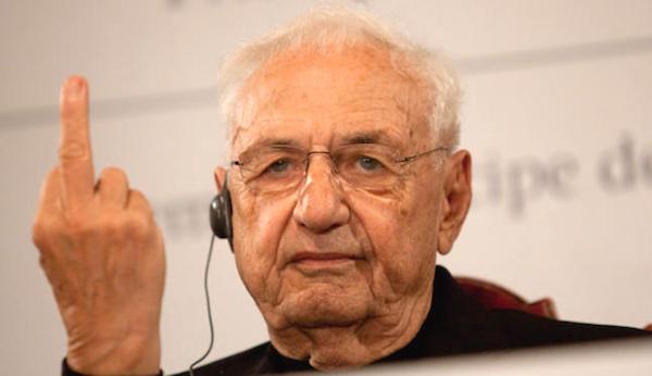 Frank Gehry. (news.artnet.com)